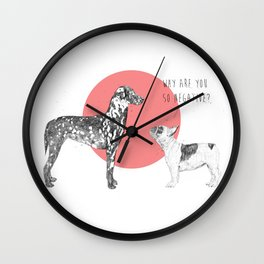 Why are you so negative? Wall Clock
