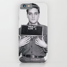 ELVIS PRESLEY - ARMY MUGSHOT iPhone 6 Slim Case