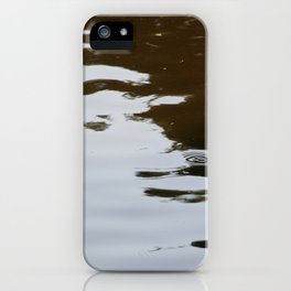 Dark and Clear Water iPhone Case