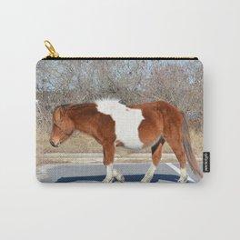 Assateague Wild Pony Carry-All Pouch