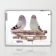 Pigeons in love Laptop & iPad Skin
