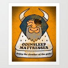 Odin - Odinsleep Mattresses Art Print