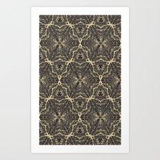 TEEPEE MOON Art Print