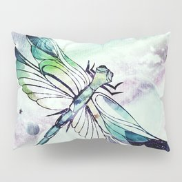 space dragonfly Pillow Sham
