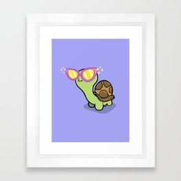 Fabulous Turtle! Framed Art Print