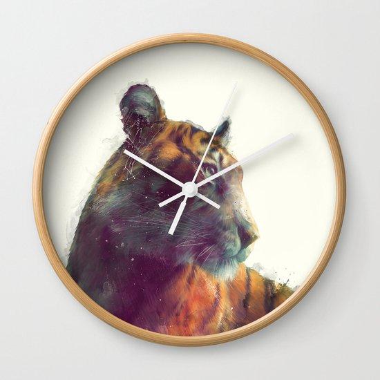 Tiger // Solace Wall Clock