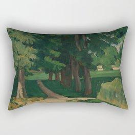 The Avenue at the Jas de Bouffan Rectangular Pillow