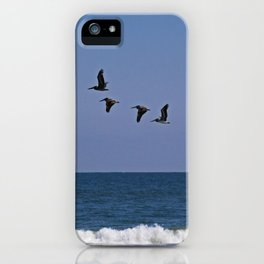 Follow the Leader iPhone Case