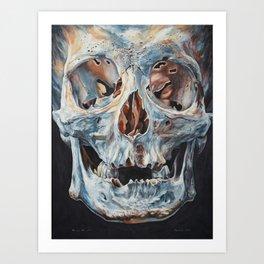 Skull I. Art Print