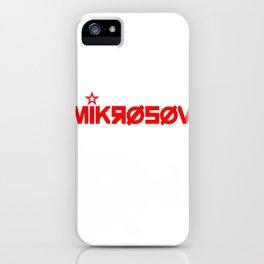 MIKROSOV iPhone Case
