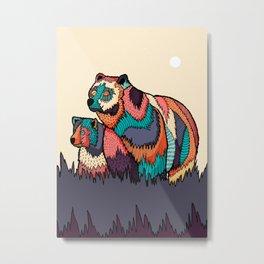 The two bears Metal Print