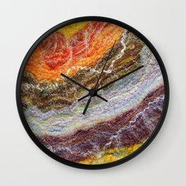 Sheer Fashion - Citrine I Wall Clock