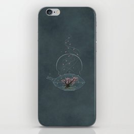 Cherry and Firefly Tea iPhone Skin