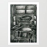 In pencil season cushion time Art Print