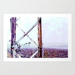 Rusty Pylon Art Print
