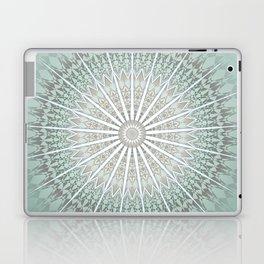 Mint Taupe Mandala Laptop & iPad Skin