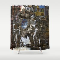 roman Shower Curtains featuring Roman Impression  by CAPTAINSILVA