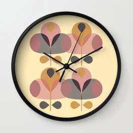 Pretty Jolipop Wall Clock