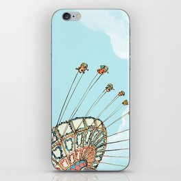 La Fete Foraine iPhone Skin