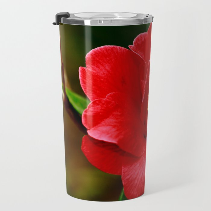 Camellia japonica Travel Mug