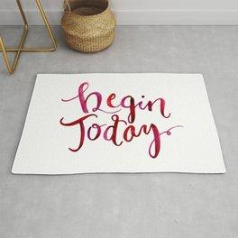 Begin Today Rug