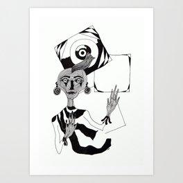 nt016 Art Print