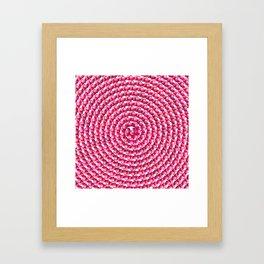 Heart Swirl Framed Art Print