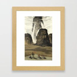 The Old gods Framed Art Print