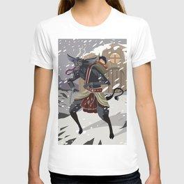 christmas krampus monster T-shirt