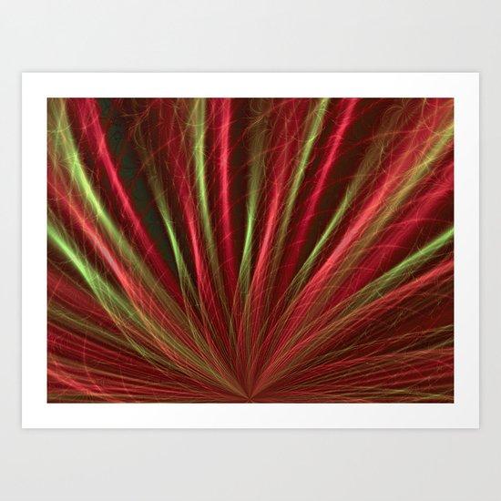 Red Sea-grass Art Print