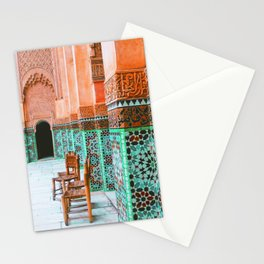 Wandering through marrakech Stationery Cards