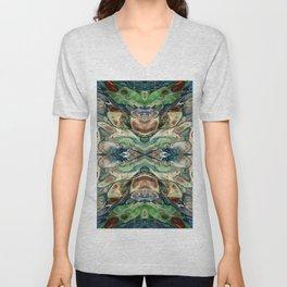 Colorful Digital Art Design - Pattern - Geometric Unisex V-Neck