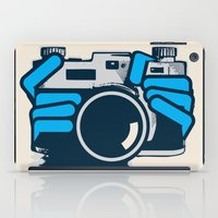 cheese iPad Cases featuring Cheese by Sei Rey Ho