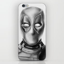 Dead-pool iPhone Skin