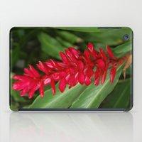 hawaiian iPad Cases featuring Hawaiian flower by lennyfdzz