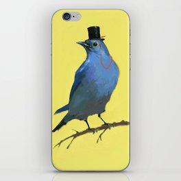 A Dapper Bluebird iPhone Skin