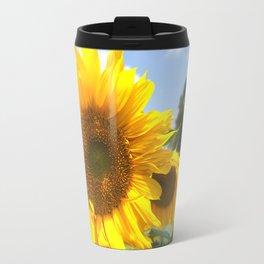 sunflower photography Travel Mug