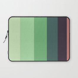 Succulent Colorful Green Pattern Laptop Sleeve