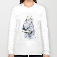 the neighbourhood Long Sleeve T-shirts featuring Falling For You by anna hammer