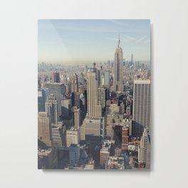 New York City / Aerial Metal Print