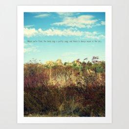 Songs From Beyond Art Print