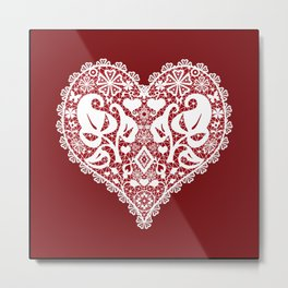 You . With Love . Metal Print