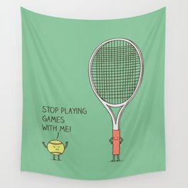 Angry ball Wall Tapestry