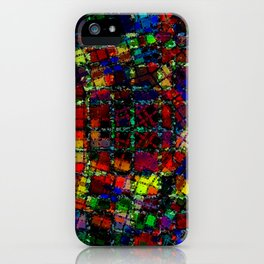 Urban Psychedelic Abstract iPhone Case