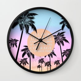 dreams can come true Wall Clock