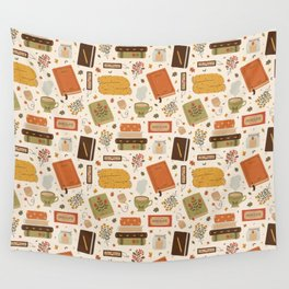 Cozy Reading Time Wall Tapestry