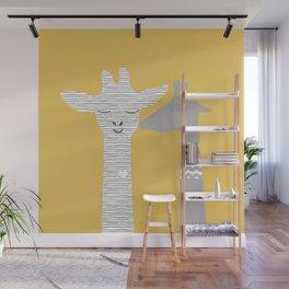 Giraffe Wall Mural