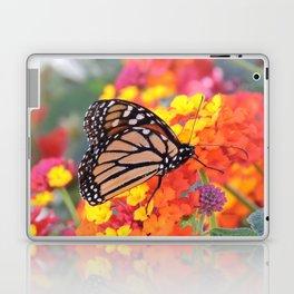 Monarch Feeding on Lantana Laptop & iPad Skin