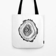 Tree Rings - Light Tote Bag