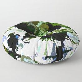 Green Daisies For Saint Patricks Day Floor Pillow